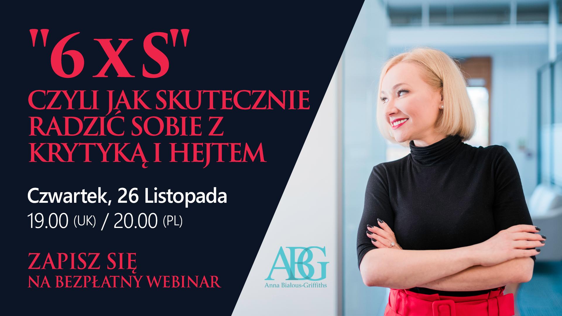 Konferencja 6xS - AGB wydarzenia - Polski psycholog w UK