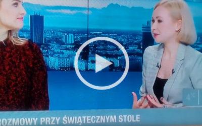 Jak przetrwać święta – Anna Białous-Griffiths w Polsat News
