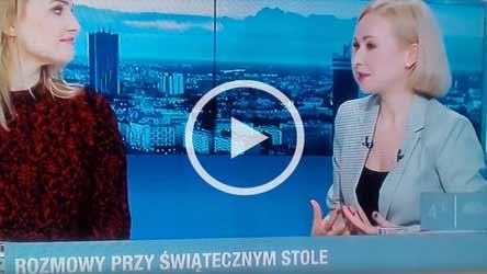 Jak przetrwać święta - Anna Białous-Griffiths w Polsat News