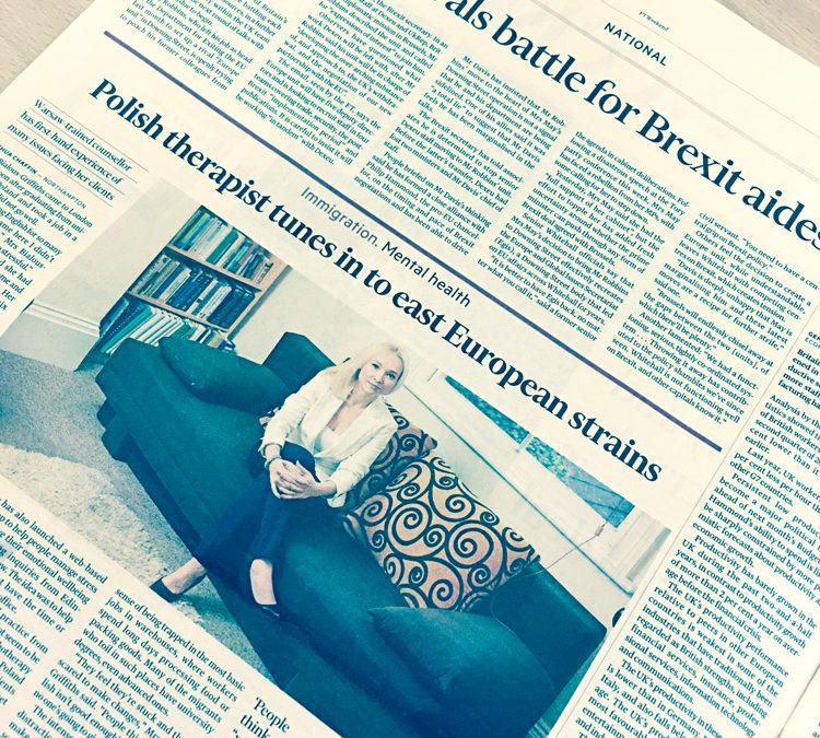 Wywiad w Financial Times